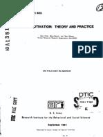 94538336 Work Motivation Theory and Practice by Gary Kress Batia Sharon and David Bassan Human Resources Research Organization 02 1984