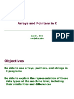 Arrays Pointers