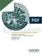 La Industria Del Mueble en 2016 Escenarios Competitivos