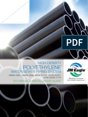 HDPE Pipe Installation Guide | Leak | Pipe (Fluid Conveyance)