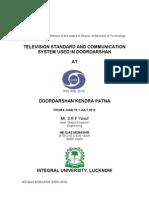 doordarshan patna training repot