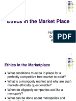 W3 Ethics in the Market Place