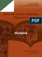 Guia Pnld 2013 Historia