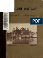 In the Sikh Sanctuary - Prof. T.L Vaswani