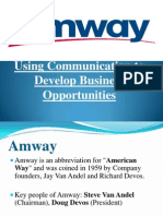 Amway Ppt Final