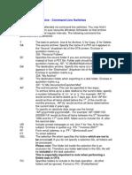 Ota Command Line Parameters