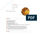 Recette de macarons de Pierre Hermé