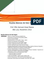 Noções básicas de seis sigma
