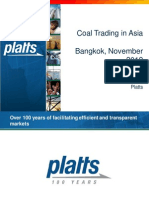 James O'Connell Platts Coal Bangkok 2012