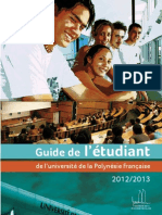 Guide de Letudiant 2012