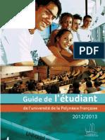 Guide de Letudiant 2012