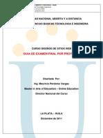 Examen Final 2012 - 1