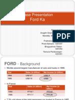 Ford - Case Presentation