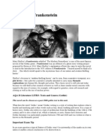 A Guide to Frankenstein