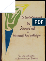 Die Aeterische Welt in Wissenschaft, Kunst & Religion - Guenther Wachsmuth