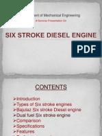 Six Stroke Diesel Engine