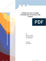 Global Overview of Saline Groundwater Occurences and Genesis