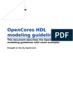 Opencores Coding Guidelines