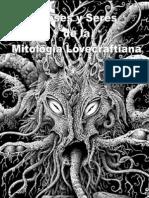 Dioses y Seres de la Mitología Lovecraftiana - MMM