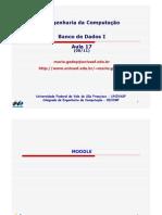 BDI - AULA 17 - Algebra Relacional Estendida