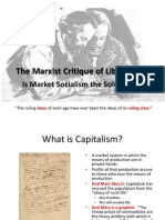 10 Marx and Market Socialism