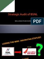 Strategic Audit of BSNL (1)