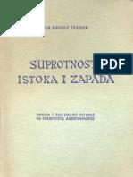 Rudolf Steiner-suprotnost Isto