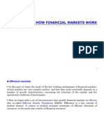 How Financial Markets Works