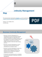 Business Continuity Management Map
