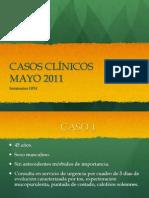Casos Clínicos Mayo 2011