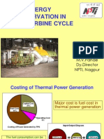 Energy Conservation in Steam Turbine