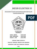 diagram fasor dan rangkaian ekivalen transformator