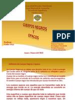 Cuerpos Negros y Opacos 1-PRESENTACION