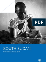 Consolidated Appeal (CAP) South Sudan 2013