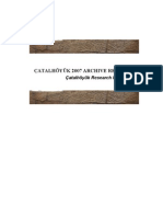 Catalhoyuk Archeological Excavations TURKEY /ÇATALHÖYÜK