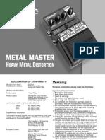 Metal Master ManualV