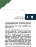 Felix Duque Arte Publico