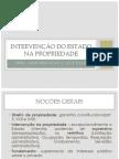 INTERVENÇÃO DO ESTADO NA PROPRIEDADE