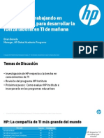 HP Institute v4.3a Customer Presentation - Spanish