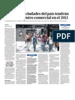 Negocios Centros Comerciales Peru