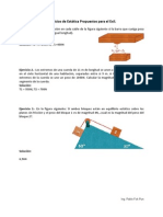 Ejercicios de Estática Propuestos EXIL (Pablo Fok)