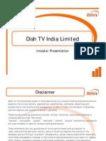 DishTV Investor Presentation