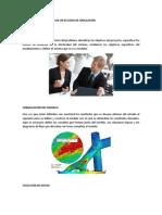 1.4 Estructura y Etapas Del Estudio de La Simulacion