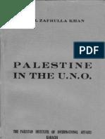 Palestine in the UNO