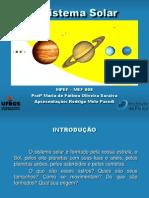 Rodrigo Sistema Solar