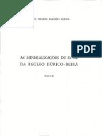 Helena Couto- As mineralizações de Sb-Au da região Dúrico-Beirã (Vol 1)