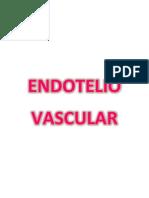 Endotelio Vascular