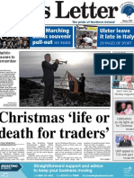 Belfast News Letter's front page, Monday Nov 19
