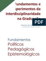 Interdisciplinaridade na Graduação UFRGS 2012