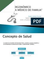 Ergonomía Consulta médico familia y comunitario